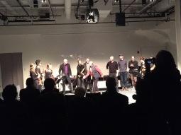 Alvin Lucier concert in Boston 2017